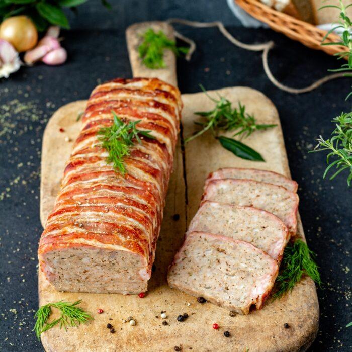 przepis na pieczeń z mięsa mielonego