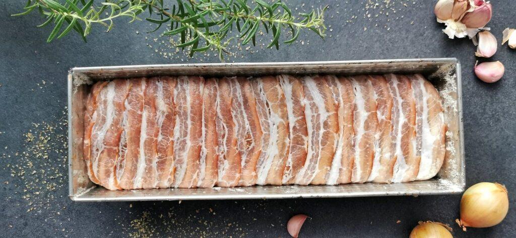 Pieczeń rzymska – Klops przed pieczeniem